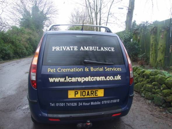 ICare Pet Cremation & Burial Services.