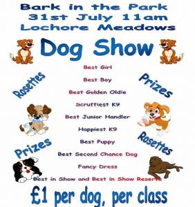 Bark in the Park 31st July 2016